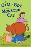 A Girl, a Boy and a Monster Cat