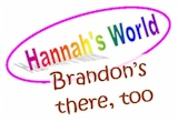 A map of Hannah's world